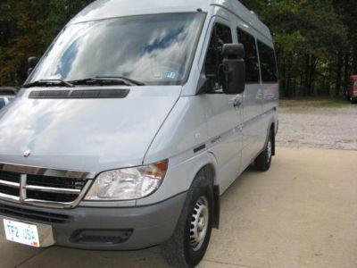 dodge sprinter 2500 shc 1 owner dodge mercedes sprinter 2500 shc 140 10 passenger diesel van. Black Bedroom Furniture Sets. Home Design Ideas