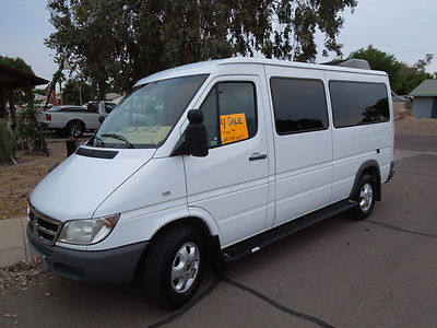 dodge sprinter 2500 bio 2006 sprinter van 10 passenger van bio diesel 20 for sale. Black Bedroom Furniture Sets. Home Design Ideas