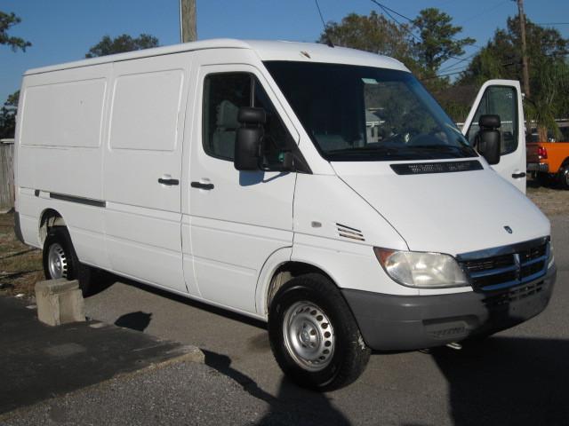 Dodge sprinter 2500 high roof 3 4 ton cargo work van for Used mercedes benz sprinter cargo van for sale