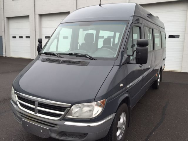 dodge sprinter 2500 wagon h 2006 dodge sprinter 2500 10 seat passenger low miles rear a c and. Black Bedroom Furniture Sets. Home Design Ideas