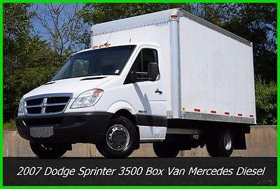 dodge sprinter box truck 2007 dodge sprinter 3500 box van 3 0 l mercedes diesel used truck. Black Bedroom Furniture Sets. Home Design Ideas